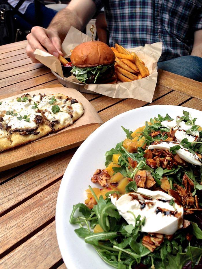 backyard kitchen pacific beach pb restaurant san diego visit pb salad