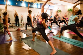 To do more yoga in 2017, try these PB classes & yoga events…(incl. FREE yoga)
