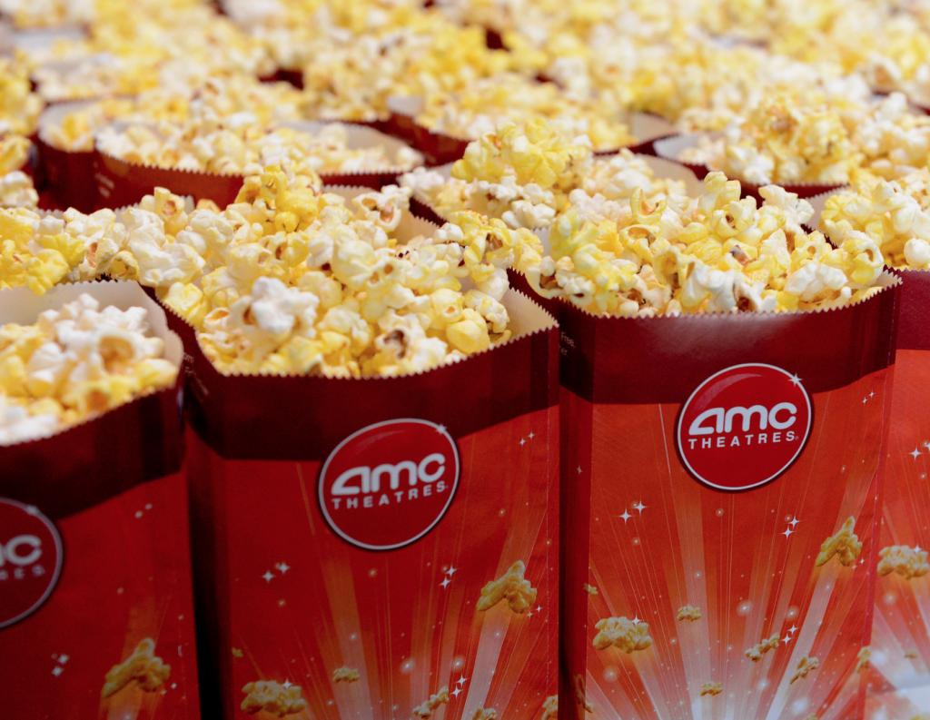 AMC small popcorn free