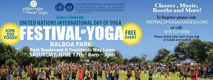 festival yoga park