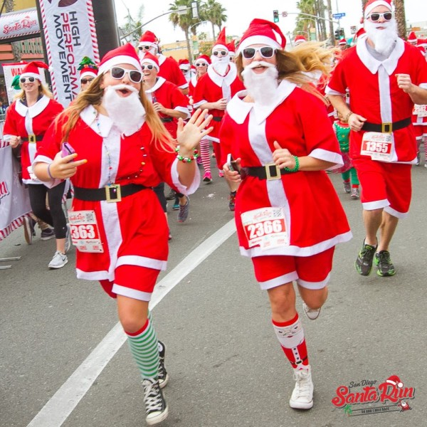 How to Join the Santa Run 5K & PB Holiday Parade (Same Day)